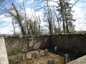 Quaker graveyard in Ballykealey