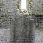 Gravestone in Wells Parish Church