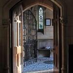 Entrance - Adelaide Memorial Church courtesy Dr. M.J. Blade
