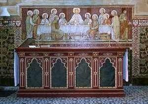 The Last Supper by Leonardo da Vinci courtesy Dr. M.J. Blade
