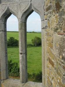 Gothic east window at Killeshin
