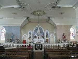 Interior of Newtown Church