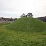 Motte and bailey in St. Mullins - courtesy OPW, Department of the Environment, Heritage and Local Government