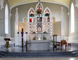 Altar of Carlow Cathedral